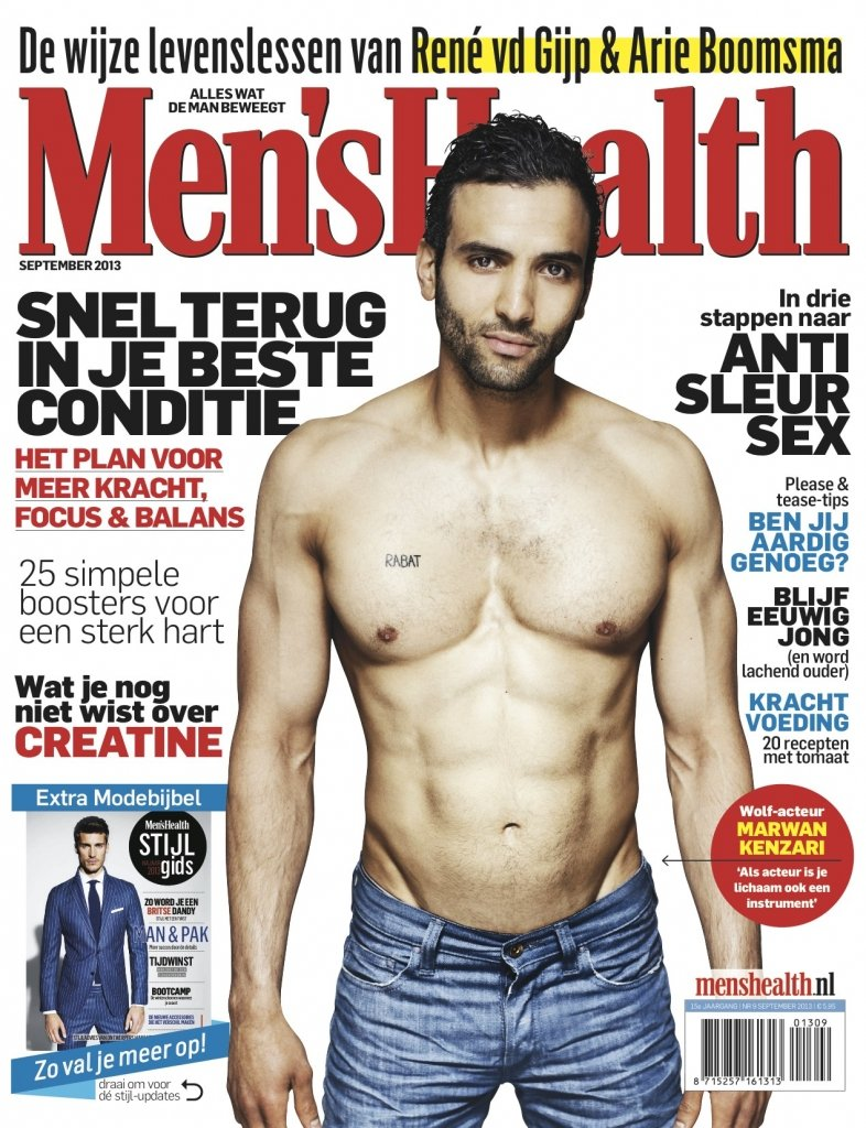 Marwan in Men's Health