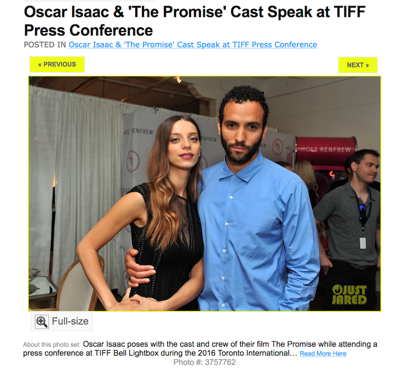Oscar Isaac & 'The Promise' Cast Speak at TIFF Press Conference