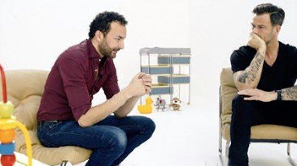 Arie praat met Nasrdin over vaderschap voor LINDA.tv